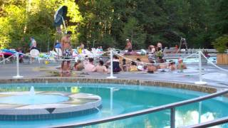 Download OVERCROWDED HOT SPRING RESORT POOLS Video