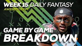 Download NFL DFS Strategy - Week 15 Top Targets - 2019 Fantasy Football Video