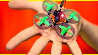 Download World's Smallest DIY Spy Drone! Video