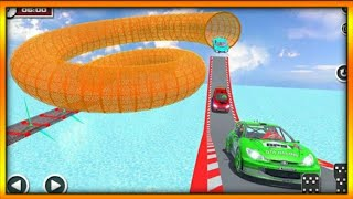 Download Ultimate racing derby fast green sports car stunts 3d game #7 | by wow kidz gamedy Video