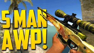 Download AWP ACE! - CSGO Funny Moments Competitive Game Video