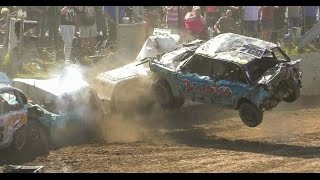 Download The Biggest Crashes of 2016 Banger Racing Video