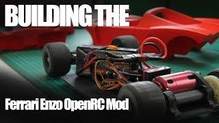 Download 3D Printing The OpenRC Ferrari Enzo RC car Video