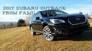 Download 2017 Subaru Outback review from Family Wheels Video
