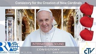 Download Consistory for the creation of new cardinals Video
