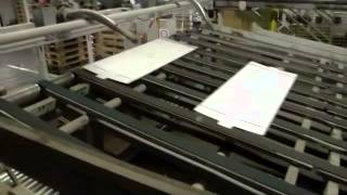 Download GÖPFERT 1 col flexo slotter die cutter sheet stacker FPS 280 E ww 2800 x 1250 1650 mm 1993 Video