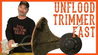 Download How Do I Quickly Unflood a Trimmer Using NO Tools? Video