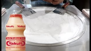 Download ICE CREAM ROLLS | Yakult Ice Cream Experiment FAIL Video
