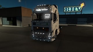 Download [ETS 2 v1.27] NEW VOLVO FH16 + OPEN PIPE + TUNING Video