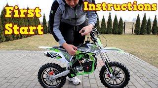 Download Dirt Bike 50cc - First Start - Instructions - Gazelle Mini Cross Video