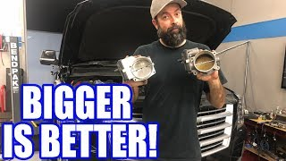 Download Supercharged Escalade 103MM Throttle Body Swap! Is It Worth It?? Video