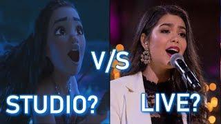 Download Disney Princesses - STUDIO vs LIVE performances Video