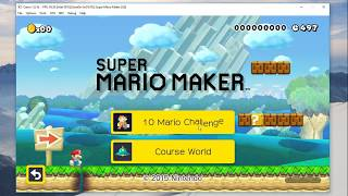 Download Super Mario Maker (Wii U Emulator) | Cemu 1.8.1 (Intel GPU) Video