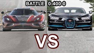 Download 2018 Koenigsegg Agera RS VS 2018 Bugatti Chiron - World's Fastest Cars!! Video