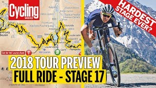 Download Full Ride of terrifying Stage 17 | 2018 Tour de France | Cycling Weekly Video