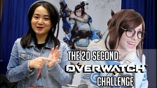Download 20 Second Overwatch Challenge Featuring the Voice Actors! - SacAnime 2018 Video