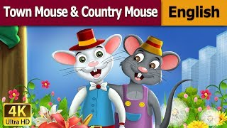 Download Town Mouse and the Country Mouse in English | Story | English Fairy Tales Video