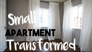 Download INTERIOR DESIGN: Transforming a Small Apartment Without Breaking the Bank | Our First Home! Video