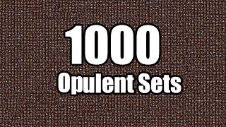 Download Loot from 1000 Opulent Sets Video