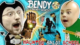 Download BALDI'S SCHOOL of BENDY & the INK MACHINELINGS! BACON Soup vs Infinity Gauntlet? (Insane FGTEEV Vid) Video