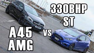 Download 330BHP FIESTA ST VS 360BHP A45 AMG Video