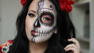 Download Sugar Skull/Day of the Dead Makeup Tutorial ~ HALLOWEEN 2015 / NYX CROATIA FACE AWARDS 2016 Video