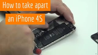 Download iPhone 4S Repair and Take Apart Disassembly and Reassembly Video