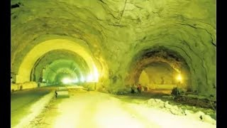 Download First Twin Tube Tunnel NH Road is in Kuthiren Ghat, Thrissur, Kerala Video