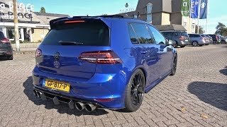 Download 400HP VW Golf 7 R with LOUD Armytrix Exhaust System! REVS + ACCELERATIONS! Video