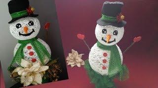 Download Como hacer muñeco de nieve/ DIY Snowman Video