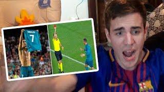 Download Barcelona vs Real Madrid 1-3 2017 REACCIONES DE UN HINCHA (SUPERCOPA) Video