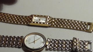 Download How to open and close snap off watch back cover and change Batteries Video