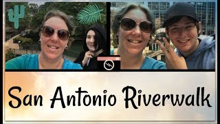 Download San Antonio Riverwalk, Hotel & FOOD | Land & Sea Vacation Vlog Day 7/8 [ep14] Video