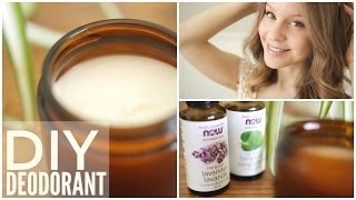 Download How to Make Natural Homemade Deodorant | Easy 3 Ingredient Recipe Video