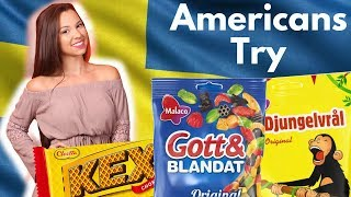 Download Americans try Swedish Candy & Snacks for first time! Video