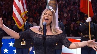 Download Fergie Performs The U.S. National Anthem / 2018 NBA All-Star Game Video
