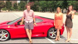 Download Women Driving a Ferrari Video