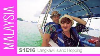 Download Island Hopping Tour Around Pulau Langkawi, Malaysia. Visit to Dayang Bunting Marble & Beras Basah Video