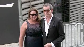Download Lenny Kravitz, Pierce Brosnan and his wife Keely attending the YSL Men Fashion Show Video