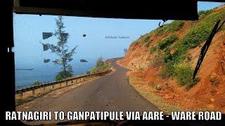 Download Ratnagiri to Ganpatipule Via Aare Ware Road | Konkan | Maharashtra | MSRTC BUS JOURNEY Video