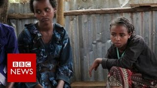 Download Meeting the child brides of Ethiopia - BBC News Video