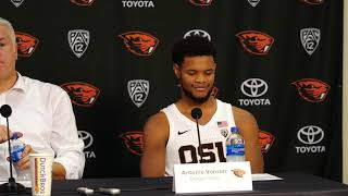 Download Oregon State Men's Basketball: Presser vs USC Video