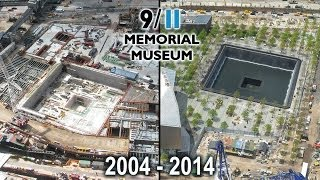Download Official 9/11 Memorial Museum Tribute In Time-Lapse 2004-2014 Video