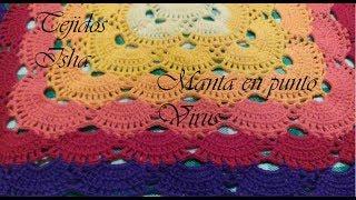 Centrino Uncinetto Facile Tutorial Doily Crochet Virus Crochet