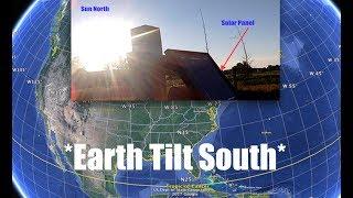 Download Earth tilting South - Sun too far North - Proof! - Michigan Farmer confirms Phenomenon Video