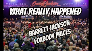 Download *FOXBODY VALUES* Barrett Jackson 2018, what really happened? Video