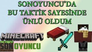 Download Minecraft Sonoyuncu - Bedwars - EFSANE TAKTİKLE 2 KİŞİ DÜŞÜRDÜM(MUTLAKA İZLEYİN) Video