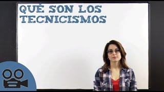 Download Qué son los tecnicismos Video