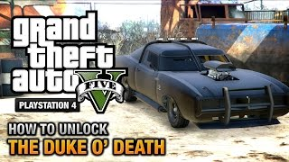 Download GTA 5 - How to unlock the Duke O' Death [PS4 & Xbox One] Video