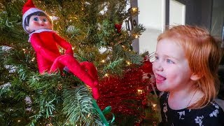 Download ELF ON THE SHELF COMES TO ADLEY'S HOUSE (What's her name?) Video